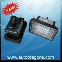 free shipping!number plate light,license plate light led,for BENZ W204 W204 5D W212 W216LPL-BENZ-W204