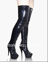 Free shipping,dress like LADYGAGA, Victoria Beckhams no high heel boots, sexy shoes,high heels shoe,ballet boots,sexy boots