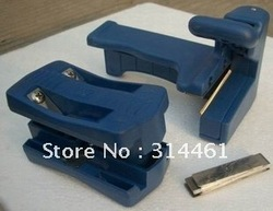 Edge banding machine / trimming device / manual Qi head knife / free shipping(China (Mainland))