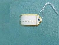 EMS Free Shipping 3500 pcs Label Tie price Tag Jewellery Display 14mmX26mm LA5