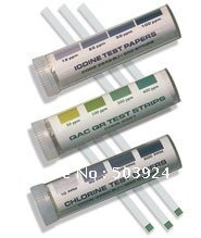 guaranteed ppm test strip,chlorine dioxide test strips(China (Mainland))