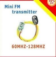 10 Mini FM transmitter 60MHZ-128MHZ small size