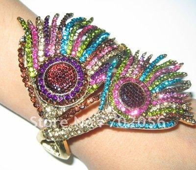 Womens Girls Bangle BRACELET Animal design Big Party Jewelry Wedding Jewellery 10pcs/lot #1014(China (Mainland))