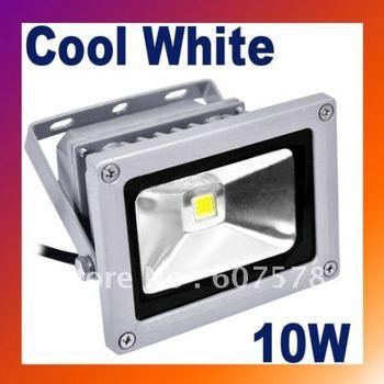 LED Flood Light Lamp 10W Cool White