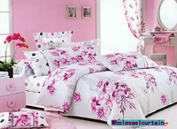 FREE SHIPPING, bedding set, 100%cotton, 4pcs(1 bed sheet+1 quilt cover+2 pillow cover),wholesale/dropship cp047