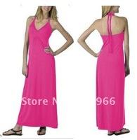 Free shipped  discount Spaghetti Straps Beach ladies  dresses