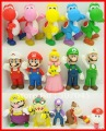 "15pc lot Super Mario Bros 5"" YOSHI BOWSER Figure RANDOM"