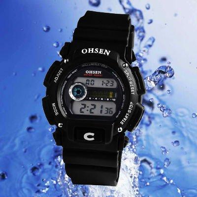 New Digital Sport Water Resistant 30M Quartz Men Watch A399(China (Mainland))