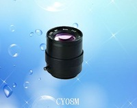 8mm Manual Iris  cctv Camera Lens  of Angle 48 CY08M
