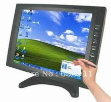 "Free Shipping 10.4"" inch VGA Stand TFT LCD Touch Screen Monitor , 10"" car pc monitor , 10 car vga monitor(China (Mainland))"