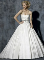 New1 2011 Custom Made Wedding Dress  With High Quality top-bride100