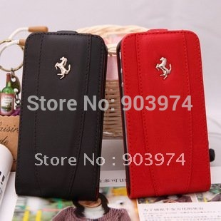 Free Shipping Genuine Leather Case for iphone 4s,  Cow Leather Case for iphone 4s, Mobile Phone Leather Case wholesale