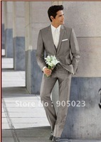 2012  polyester/ woole wedding men's suit