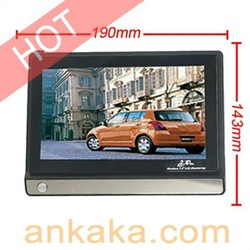 "CCD Wired Cameras & 7"" LCD 2.4GHz 4CH AV Monitor(China (Mainland))"