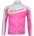 free shipping New Giant women&#39;s long sleeve cycling wear bicycle bike jersey apparel clothing sportswear Adults wholesale retail