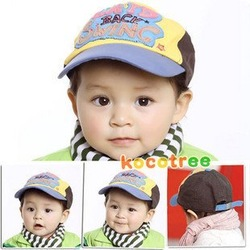 Free shipping woolen fashion baby polo baby boy ball cap Child Kid Toddler hat(China (Mainland))