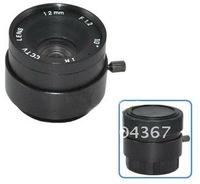 "F1.2 12mm 1/3"" CS Mount Fixed IR CCTV Camera Lens+ Free Shipping"