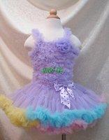 baby dress, pettiskirt, tutu skirt, girl  dancing skirt MIX 5 size 5pcs/lot O03