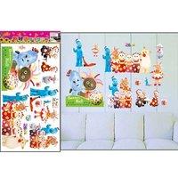 Free shipping,DIY wall stickers wall decoration Korea bedroom living room children's cartoon baby TC1022 Garden baby home deco w