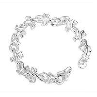 Free shipping,925 silver jewelry Bracelet ,Branch bracelets, fashion jewelry Bracelet wholesale price! S060