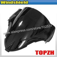 Free Shipping Black Motorcycle Windshield WindScreen Suzuki GSXR 1300 GSXR1300 99-06 Y364