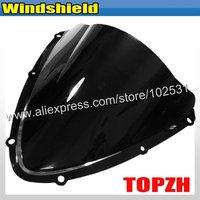 Free Shipping Black Motorcycle Windshield WindScreen Suzuki GSXR 600 750 K8 08-09 Y367