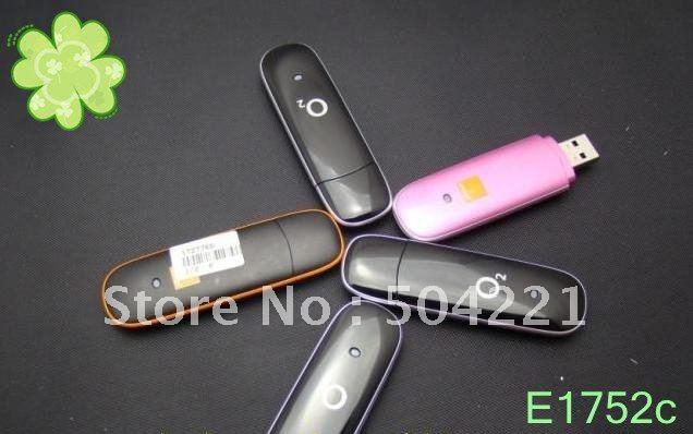 Freesample Hotsale Huawei E1752c Wireless USB 3G Modem  7.2 Mbps WCDMA HSUPA HSDPA UMTS EDGE G ...