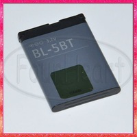 BL-5BT Battery For Nokia Cellular 7510S N75 N76 2600C 5140 5300 XpressMusic N80 6120 Classic Mobile Cell Phone 650mah,Retail