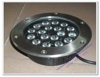 free shipping,4pc/lot,AC90-250V/DC12/24,PZ-YH-BL-HD013,18w led garden lights,led underground light,led buried lights