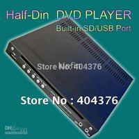 Car Half DIN DVD Player,car DVD plaryer with DIVX/AVI/DVD/VCD/MP3/CD Built In SD/USB Port,car DVD player for all car.