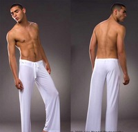 Free shipping ! men's home pants /brand home wear /nice and cool fashion wear/can be mixed wholesale /yoga pants /white color
