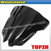 Free Shipping Black Motorcycle Windshield WindScreen Yamah YZFR6 YZF 600 R6 08 09 Y376