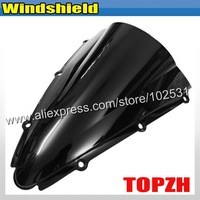Free Shipping Black Motorcycle Windshield WindScreen Yamah YZF R1 1000 00-01 For Y370