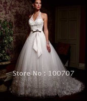New ! 2011 Custom Made Wedding Dress  With High Quality Fabrics topbride407