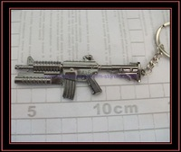 free shipping 12pcs/lot newest style gun key chains fashion gun key chains couple key rings