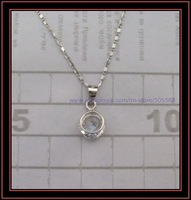 free shipping 925 sterling silver pendant  fashion silver necklace  silver charms