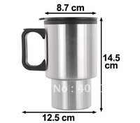 2013 New Design 400ml double wall Stainless Steel Travel Mug/Auto Mug
