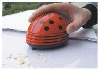 free shipping!Wholesale---Lovely mini ladybug vacuum cleaner/cleaner