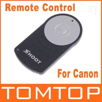 RC-6 IR Wireless Remote Control For Canon 5D II/7D/550D/500D,Free Shipping   Wholesale