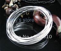 925 silver 10 rings cuff/bangle B007,925 bangle,925 silver jewelry,925 jewelry   free shipping