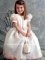 2014Cheap Customer-Made Design Designer Dress For Flower Girl