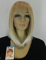 Women's blonde Hair Wigs Synthetic lace Wig Free Shipping!