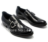 Wholesale and retail - free shipping Hot-selling new style brand handmade men first layer cow leather dress shoes