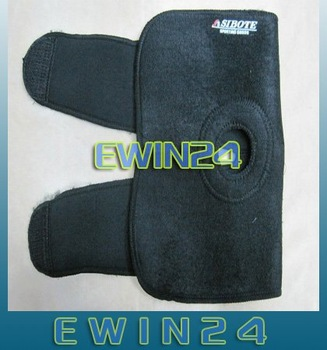 Free shipping Neoprene Brace Pad Sports Knee Support Black 100%New  Good Quality 200pcs/lots