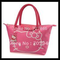 new pink hello kitty hellokitty shoulder bag tote handbag purse lunch bag free shipping