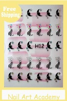 H011-20 Freeshipping little butterfly Design nail Stickers Assorted for Nail Art Decoration wholesale