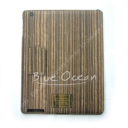 Cool Appearance New Veneer Gluing Case Skin Work With Smart Cover For Pad 2 Wood Style 017(China (Mainland))