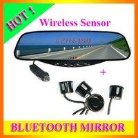 Free Shipping Bluetooth Rear Car View Mirror Wireless Parking Sensor
