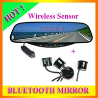 Free Shipping Bluetooth Rear Car View Mirror Wireless Parking Sensor