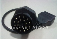 freeshipping For BMW 20PIN MALE TO OBD2 16PIN FEMALE via DHL,EMS,UPS